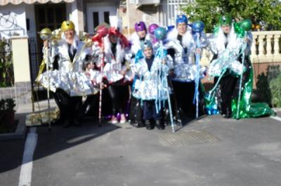 GANADORES DEL CONCURSO DE DISFRACES CARNAVAL DE TABERNAS 2011