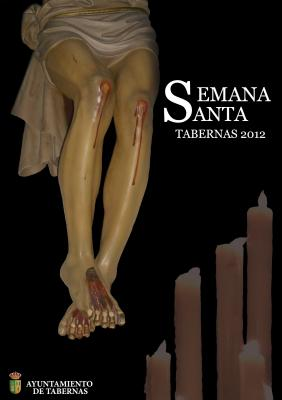 CARTEL GANADOR SEMANA SANTA 2012