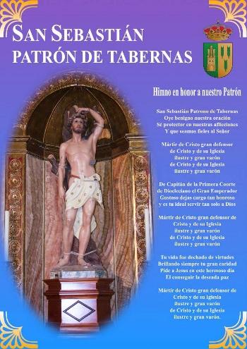 SAN SEBASTIAN, PATRON DE TABERNAS